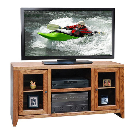 "LG-CL1227 - 52"" City Loft TV Stand - Oak For Less® Furniture"
