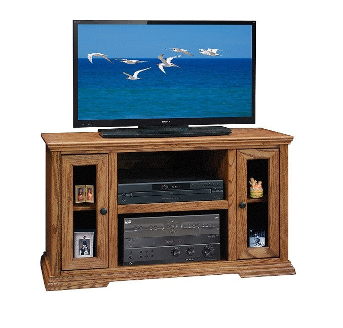 "LG-CP1226 - 44"" Colonial Place TV Stand - Oak For Less® Furniture"