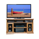 "LG-CP1328 - 62"" Colonial Place Tall TV Stand - Oak For Less® Furniture"