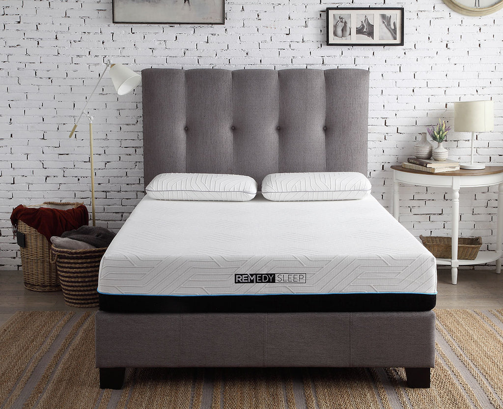 "REMedy 2.0 Plush Memory Foam 10"" Mattress 