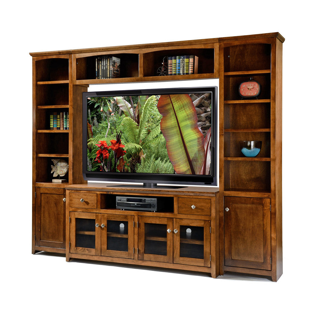 "OD A S61Wall Shaker Alder Wall System with 61"" TV Stand"
