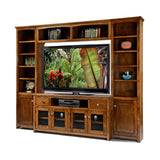 "OD-A-S274Wall - Shaker Alder Wall System with 61"" TV Stand"