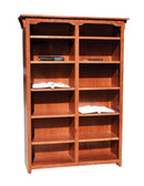 "OD-O-M4884 - Mission Oak Bookcase 48"" w x 13"" d x 84"" h - Oak For Less® Furniture"
