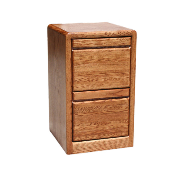 OD-O-C178 - Contemporary Oak 2 Drawer Letter Size File - Oak For Less® Furniture
