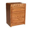 OD-O-C320 - Contemporary Oak 3 Drawer NIghtstand - Oak For Less® Furniture
