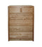 OD-O-C322 - Contemporary Oak 6 Drawer Chest - Oak For Less® Furniture