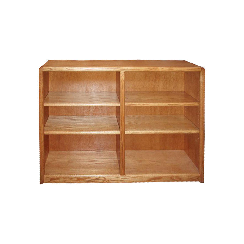 "OD-O-C4836 - Contemporary Oak Bookcase 48"" w x 12"" d x 36"" h - Oak For Less® Furniture"