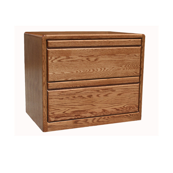 OD-O-C650 - Contemporary Oak 2 Drawer Lateral File - Oak For Less® Furniture