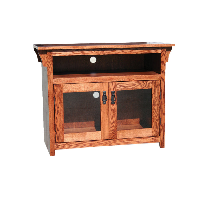 "OD-O-M236 - Mission Oak 38"" TV Stand - Oak For Less® Furniture"