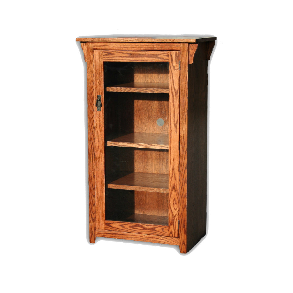 Unique Wall Curio Cabinet with Glass Doors