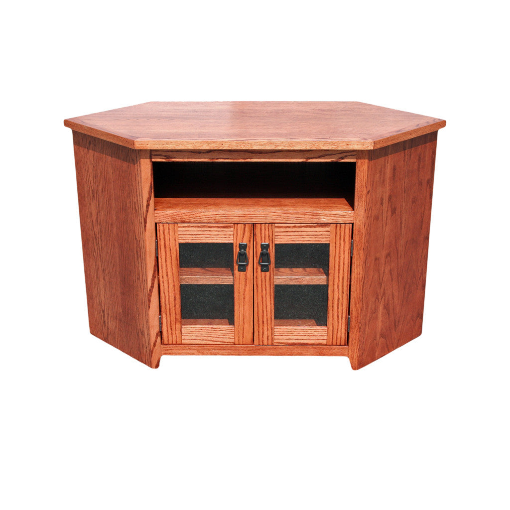 Od O M244 Mission Oak 46 Corner Tv Stand