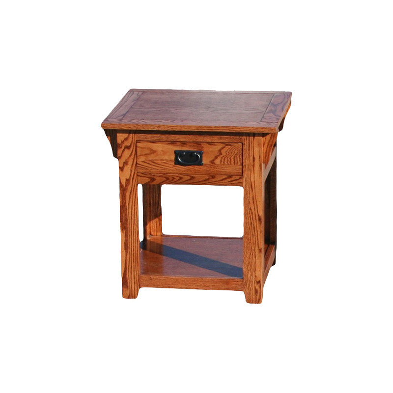 Beau OD O M258   Mission Oak End Table   Oak For Less® Furniture ...