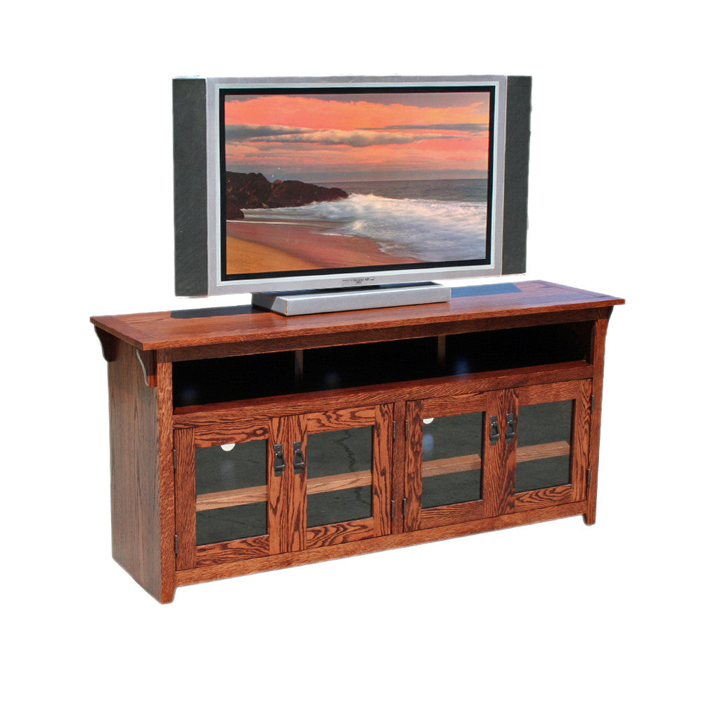 "OD O M280 Mission Oak 65"" TV Stand"