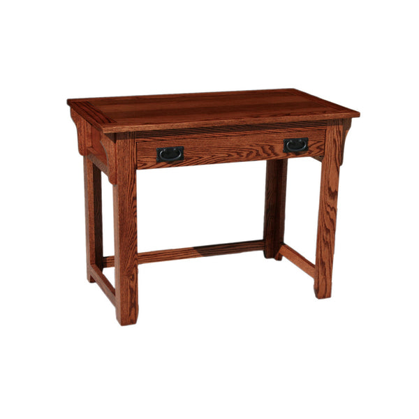 "OD-O-M354 - Mission Oak 42"" Lap Top Writing Table Desk - Oak For Less® Furniture"
