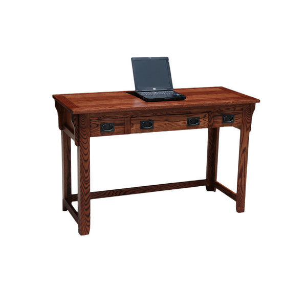 "OD-O-M355 - Mission Oak 52"" Lap Top Writing Table Desk - Oak For Less® Furniture"