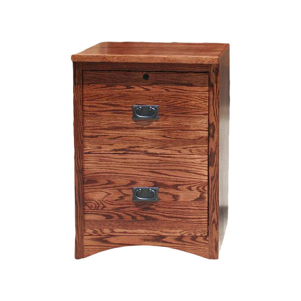 OD-O-M646 - Mission Oak 2 Drawer Letter-Legal Size File - Oak For Less® Furniture
