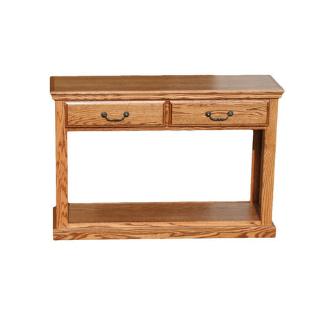 OD-O-T247 - Traditional Oak Sofa Console Table