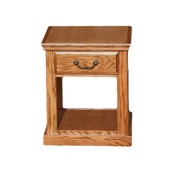 OD-O-T248 - Traditional Oak End Table - Oak For Less® Furniture