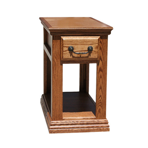 OD-O-T251 - Traditional Oak Chairside End Table - Oak For Less® Furniture