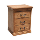 OD-O-T314 - Traditional Oak 3 Drawer Nightstand - Oak For Less® Furniture