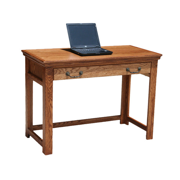 "OD-O-T354 - Traditional Oak 42"" Lap Top Writing Table Desk - Oak For Less® Furniture"