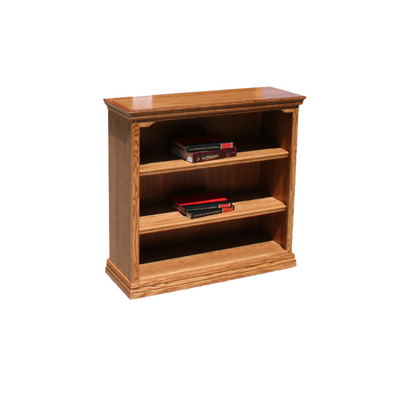 "OD-O-T3636 - Traditional Oak Bookcase 36"" w x 13"" d x 36"" h - Oak For Less® Furniture"