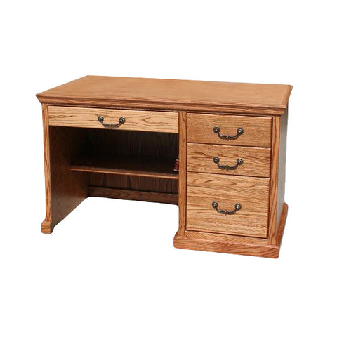 "OD-O-T642 - Traditional Oak 50"" Student Desk - Oak For Less® Furniture"