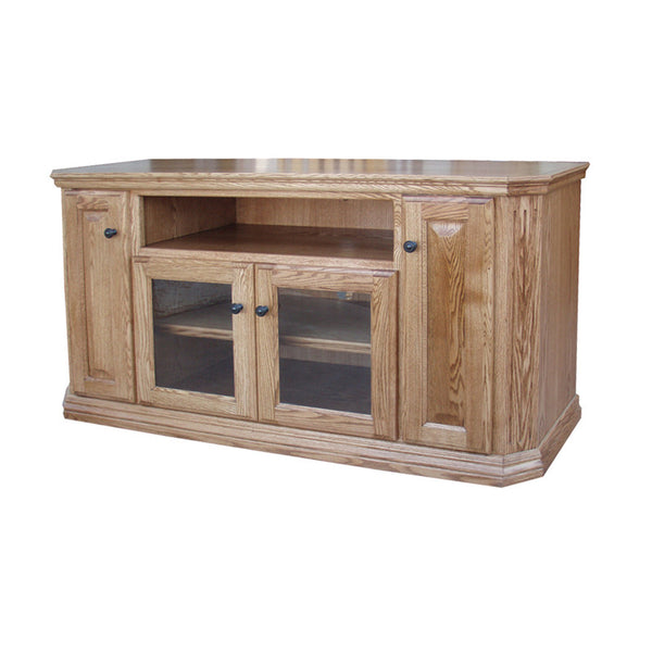 Fresh Oak Tv Cabinet with Doors