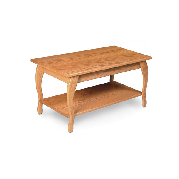 Amish made Anne Marie Coffee Table - Oak - Oak For Less® Furniture
