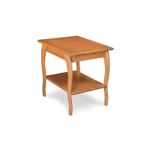 Amish Made Anne Marie End Table Oak
