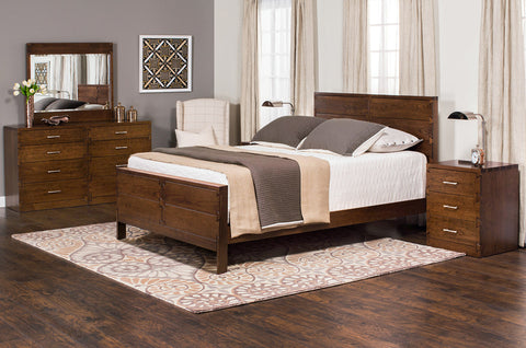 Amish made Dovetail Solid Cherry 5 Piece Bedroom Suite - King Size - Oak For Less® Furniture