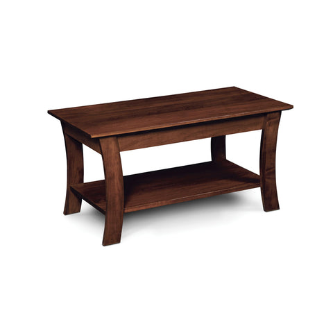 Amish made Grace Coffee Table - Cherry - Oak For Less® Furniture