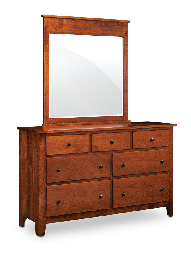 Bedroom Packages: Amish Made Shenandoah Solid Character Cherry 6 Piece