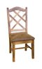 SD-1415RO - Sedona Double-Xback Side Chair with Cushion Seat - Oak For Less® Furniture