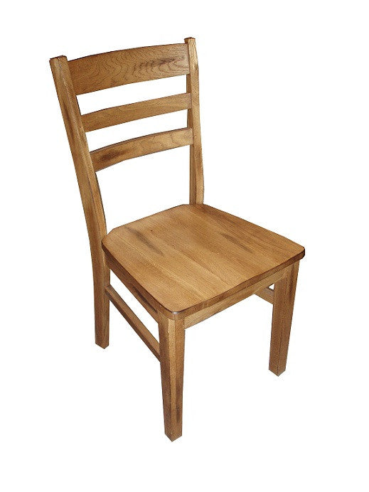 SD-1616RO - Sedona Small Ladderback Side Chair - Oak For Less® Furniture