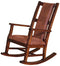SD-1935DC2 - Santa Fe Rustic Rocker - Oak For Less® Furniture
