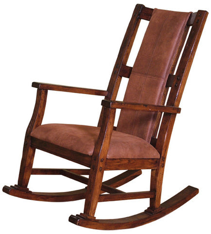 SD-1935DC - Santa Fe Rustic Rocker - Oak For Less® Furniture