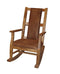 SD-1935RO2-2 - Sedona Rustic Rocker with T-fabric - Oak For Less® Furniture