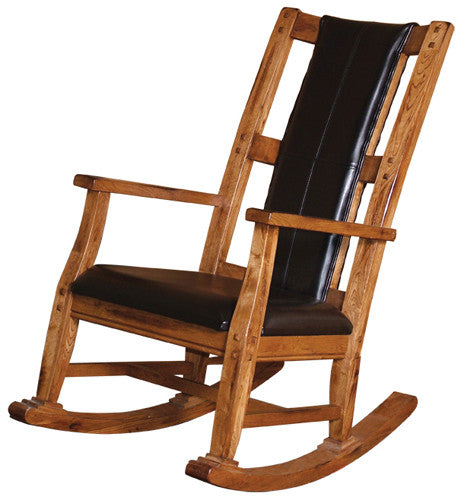 SD-1935RO - Sedona Rustic Oak Rocker - Oak For Less® Furniture
