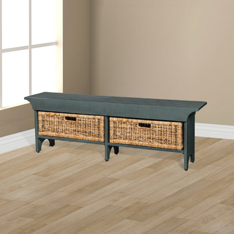 SD-2025LB-S - Short Bench with Storage Baskets
