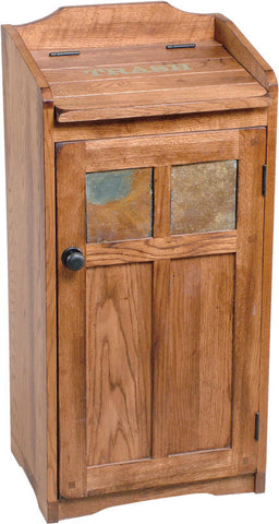 SD-2110RO - Sedona Rustic Oak Trash Container - Oak For Less® Furniture