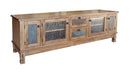 "SD-2702RO-TC - 78"" Sedona Rustic Oak TV Stand - Oak For Less® Furniture"