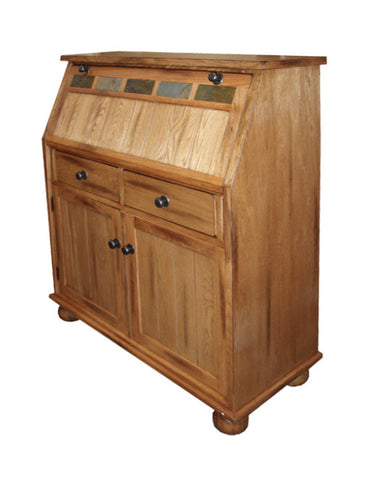 SD-2939RO - Sedona Drop-leaf Laptop Desk Armoire - Oak For Less® Furniture