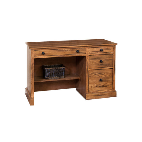 "SD-2968RO-D - 49"" Sedona Rustic Oak Computer Desk - Oak For Less® Furniture"