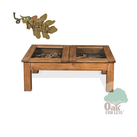 SD-3115DL-CC - Mossy Oak Cocktail Curio Table