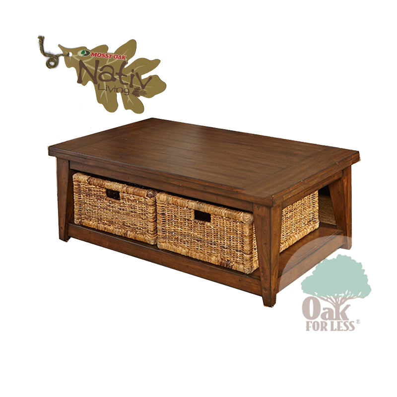 SD-3118KW-C - Mossy Oak Cocktail Table - Oak For Less® Furniture