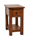 SD-3133RO-CS - Sedona Rustic Oak Chairside Table - Oak For Less® Furniture