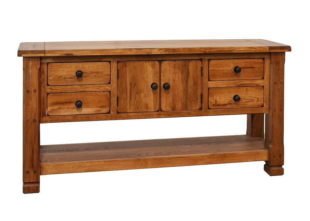 SD-3135RO Sedona Rustic Oak Sofa Table