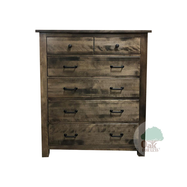 Bench Built 5 Drawer Chest in Birch - Oak For Less® Furniture