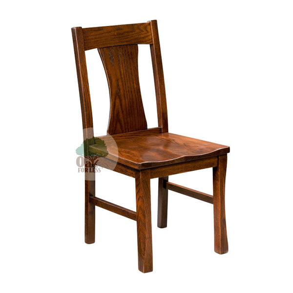 Amish made Sheridan Side Chair in Solid Oak - Oak For Less® Furniture